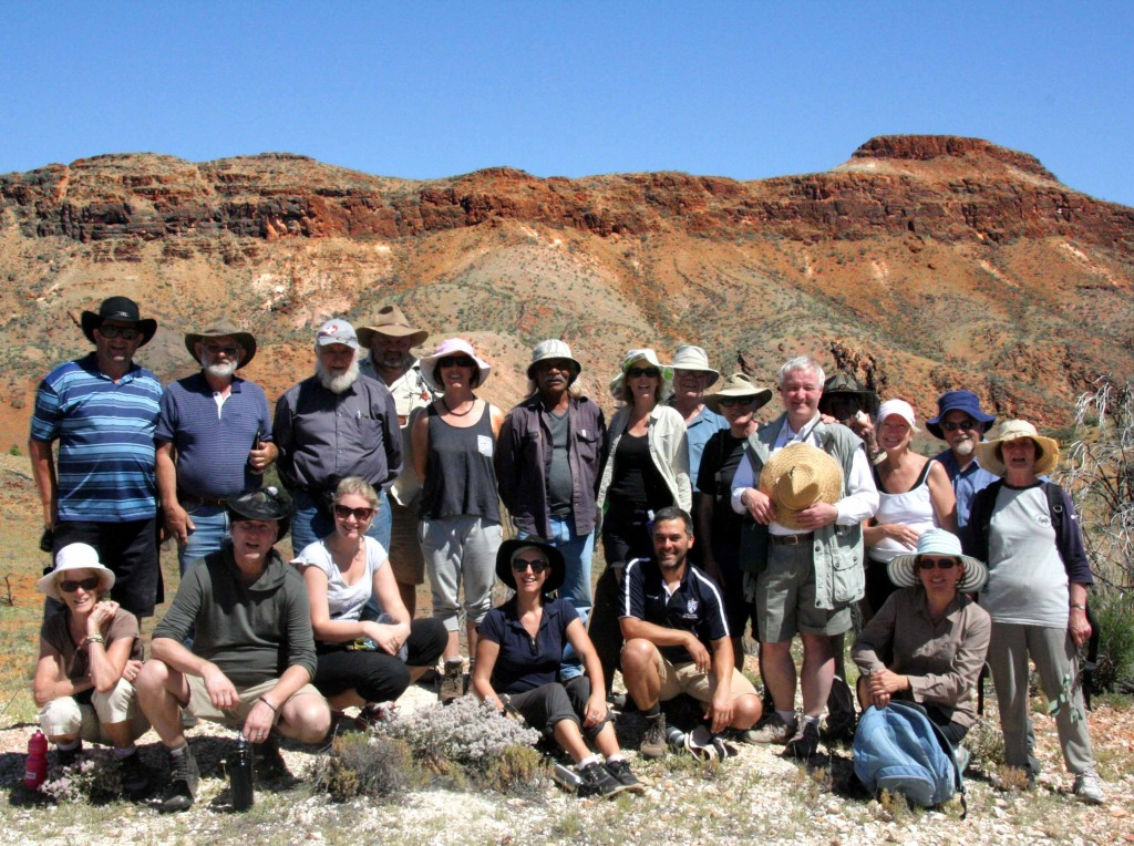 Pilgrims in the Flinder Ranges