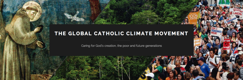 Global Catholic Climate Movement Banner