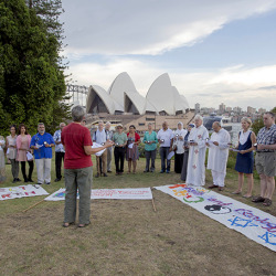 Light for Lima – the faithful join together to pray for action on climate change