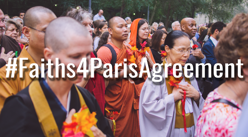 #Faiths4ParisAgreement