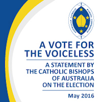 A Vote for the Voiceless – A Statement by the Catholic Bishops of Australia on the Election