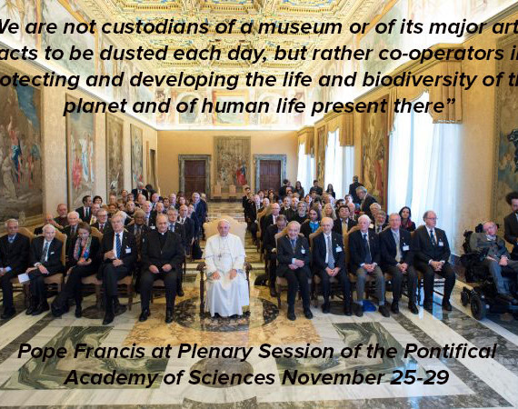 Pope Francis Speaks to the Pontifical Academy of Sciences